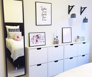 bedroom, girly, and interior design image