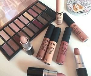 makeup, NYX, and lipstick image
