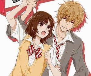 anime, manga, and wolf girl & black prince image
