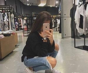 girl, fashion, and icon image