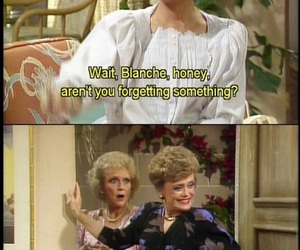funny, the golden girls, and golden girls image