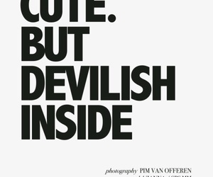 cute, quotes, and devilish image