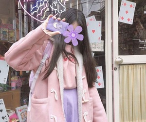 kawaii, korean fashion, and korean girl image