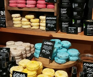 brand, lush, and cosmetic image
