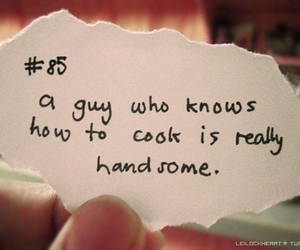 guy, cook, and quote image