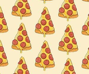 pattern, tela de bloqueio, and pizza image