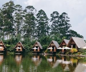 bandung, cottage, and indonesia image