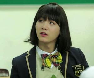 girl, cute, and yoongi image
