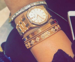 bracelet, gold, and van cleef and arpel image