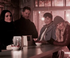 once upon a time, shows, and snowing image