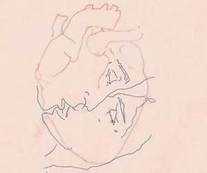 love, art, and heart image