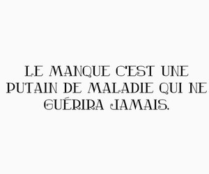 amour, french, and maladie image
