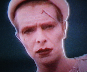 david bowie, ashes to ashes, and scary monsters image