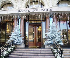 paris, christmas, and hotel image
