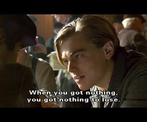 titanic, quote, and leonardo dicaprio image