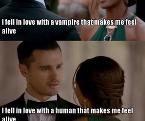 the vampire diaries, enzo, and feelings image