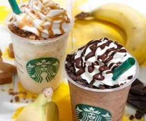 banana, chocolate, and coffee image