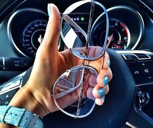 fashion, glasses, and car image