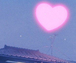 heart, pink, and anime image