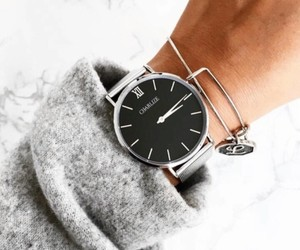 fashion, beauty, and clock image
