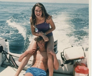 brooke shields, love, and couple image