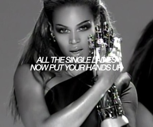 single ladies, queen bey, and beyoncé image