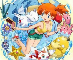 misty and pokemon image