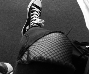 blackandwhite, bw, and converse image