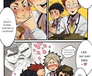 Boys Love, ushijima, and wakatoshi image