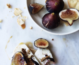 brunch, fig, and food image