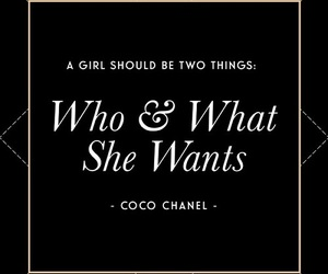 quote, coco chanel, and love image