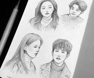 Korean Drama, kdrama, and gong yoo image