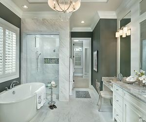 bathroom, decoration, and design image
