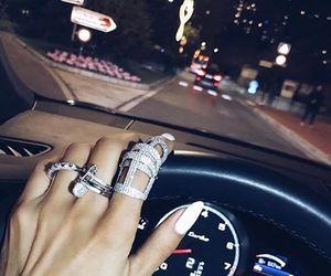 car, nails, and rings image