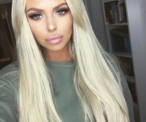 beauty, blonde, and beautiful image