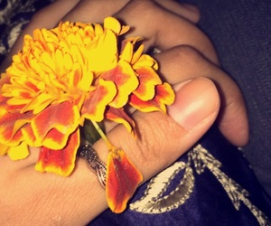 flower, mine, and ring image
