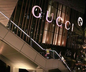 gucci, luxury, and store image