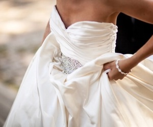 beauty, just married, and bridal image