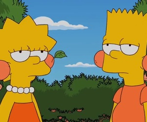 bart, bart simpson, and bored image