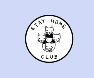 cat and club image