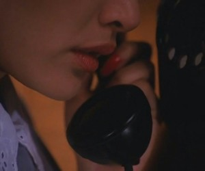 Laura Palmer, phone, and Twin Peaks image