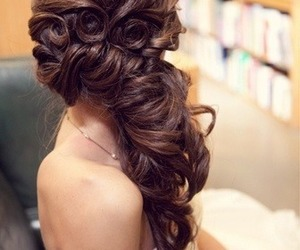 chicas, hair, and color image