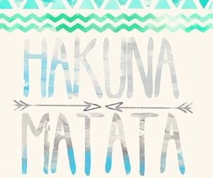 hakuna matata and wallpaper image
