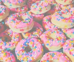donuts, tumblr, and food image