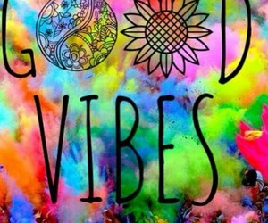good vibes, hippie, and vibes image