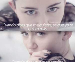 frases, frases en español, and miley cyrus image