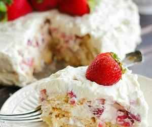 cake, pound, and tasty image