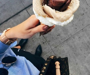 fashion, ice cream, and food image