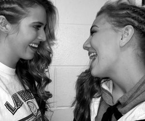 best friends, bff, and cornrows image