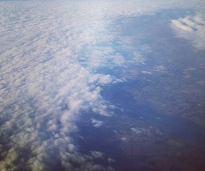 adventure, clouds, and sky image